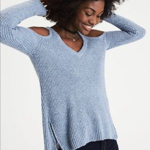 NWT American Eagle Cold Shoulder Sweater